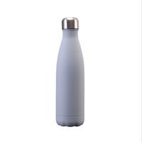De haute qualité à double paroi en acier inoxydable Coca-Cola Bottle grand nombre de styles couleur sont disponibles | Bois Grain / Marbre Grain / Starry Sky / So