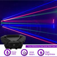 Kafa Örümcek Işın Lazer Işığı DMX Efendi-Ana Gig Parti DJ Profesyonel Sahne Aydınlatma 109RGB Hareketli Sharelife 9 Gözler RGB