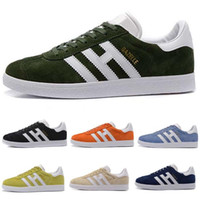 Nice Gazelle Suede Low Cut Casual Flat MEN' S Running sn...