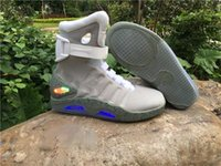 2020 Designer Air mag Back to the Future Fashion Marke Turnschuhe für Männer Frauen Luxusschuhe Lauf LED-Beleuchtung im Freien Trainer mit Box