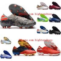 2020 nouvelle arrivée de qualité supérieure chaussures pour hommes de football Nemeziz 19,1 FG crampons de football chaussures de football en plein air chuteiras de Futebol