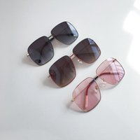 نظارات شمسية باطار ذهبي 0394 Occhiali da Sole