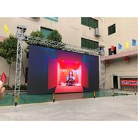576 * 576 milímetros P6 SMD3535 exterior Fundição de alumínio armário cheio de cor LED Screen Display