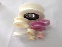 Cuscinetto ceramico di elevata purezza, guidafilo ceramico, rullo guida ceramica, rulli ceramici ad alta temperatura, puleggia ceramica