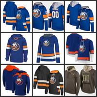 뉴욕 ishanders Hoodie Nick Leddy Matt Martin Kyle Okposo Jaroslav Halak Johnny Boychuk John Tavares Hockey Jersey Sweatshirt Stitched