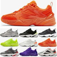 Triple voltio Monarch M2K Tekno Gunsmoke Moda Phantom Casual Sports Running Shoes Diseñador Hyper Grape Orange Hombres Mujeres Zapatillas