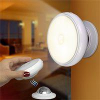 Hareket Sensörü Gece aydınlatması LED USB Şarj edilebilir 360 Derece Döner Odası Merdiven Mutfak tuvalet ışıkları Güvenlik Duvarı lamba led
