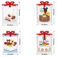 Wholesale Birthday Gift Series Building Blocks Creative Chil...