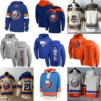 New York Islanders Hockey Hoodie Sweatshirts 13 Mathew Barzal 91 John Tavares Anders Lee Andrew Ladd Josh Bailey Any Name Pullover Hoodies