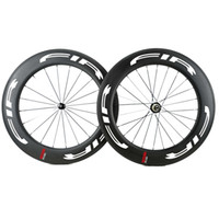 700C 25MM العجلات 88mm واسعة عجلات الفاصلة الكربون V الفرامل الكربون مع عجلات دراجة المحور Powerway R13 الطريق