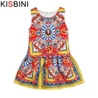 good quality 2019 Summer Fashion Chinese Style Printing Girl...