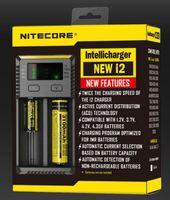 I2 carregador de bateria universal para 18650 16340 26650 14500 22650 18490 18350 bateria nitecore lcd carregador de bateria nitecore i2 d2 d4 i4