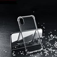 Прозрачный чехол TPU для iPhone12 8Plus 11 XR Мягкий чехол мягкий кремниевый чехол тонкий четкий телефон задняя броня iPhone 6s 7plus