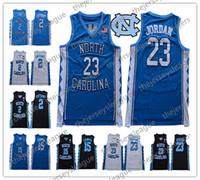 Talones clásica North Carolina Tar # 2 Cole Anthony Michael 23 15 Vince Carter 2019 Nueva UNC Escuela de Baloncesto jerseys S-3XL