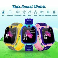 Kinder Smart Watch Unterstützung Sim / TF-Karten-Musik-Spiele spielen Zweiwegbenennen Kamera Multifunktions-Kinder Smart-Phone Watch