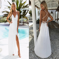 Designer-Kleid mit V-Ausschnitt Sexy Rock-Frauen Sexy Nachtclub-Kleid-Partei-Mädchen Sexy Spitze-Bügel-Panel-Kleider Backless Chiffon-Kleid