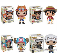 New 4 styles Funko POP Anime: One Piece loi trafalgar action Vinyl Figure ETUI # 100 Populaire Toy Gify