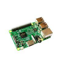 Freeshipping originale Raspberry Pi 3 Modello B 1 GB di RAM Quad Core da 1,2 GHz a 64 bit etooth WiFi CPU