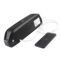 5V USB dağ bisikleti 48V 16AH e bisiklet batarya Hailong lityum piller ile 350W / 500W motor + BMS + Charger2A için 18.650 piller