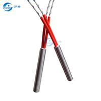 Frete grátis 12 * 200mm Aquecedor de Comprimento AC 220 V 400 W Cartucho Aquecedor Aquecedor Elétrico Elemento 10 pcs