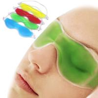 Ice Gel Augenmaske Summer Essential Schlafaugenmasken lindern Ermüdungserscheinungen der Augen Kühle Flecken für die Augenpads Entfernen Sie Augenringe