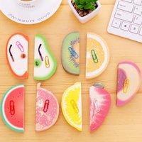 Dekorative Frucht-Shaped Notizblock Briefpapier Haftnotiz schöne Frucht Modelling Anmerkungen Aufkleber Notizblöcke Großhandel LX1875
