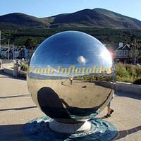 무료 배송으로 장식 크리스마스 또는 파티 이벤트 광고 미러 볼에 거울 구체 풍선 풍선