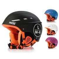 Marke Mann / Frau / Kinder Ski Helm Winter Velure Snowboard Helm Moto Bike Ski / Schlitten Sport Sicherheit Rollschuh Skateboard Maske