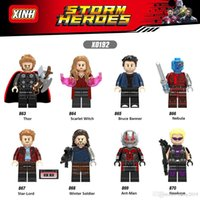 X0192 Super Hero Thor Scarlet Witch Bruce Banner Star Lord N...