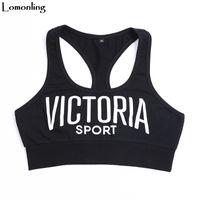 Lomonling 2018 New Vest's Fashion Base Letters Printed Cotton Comfort Y190123