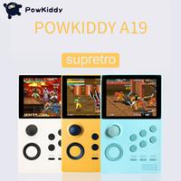 POWKIDDY A19 판도라의 상자 안드로이드 supretro 핸드 헬드 게임 콘솔 화면이 3000 + 게임 30 개 3D 게임 와이파이 다운로드를 저장할 수 있습니다 IPS