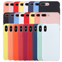 Original Silicone Case For iphone X XS Max XR Case For iPhon...