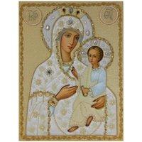 Религия 5d Diy алмазов картина вышивки крестом Святая Мать стразами Алмаз стразами Алмаз вышивка дрель подарок