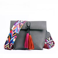New Women Messenger Bag Tassel Crossbody Bags For Girls Shou...