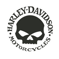 15 * 15 cm Harley Davidson Motocickles Brave Man Style Car Sticlers CA-3018