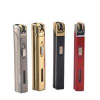 새로운 도착 정품 Aomai 소형 제트 라이터 토치 그라인딩 휠 화재 직선 라이터 담배 라이터 특수 담배 라이터