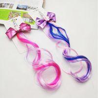 Einhorn-Haar-Stirnband-Glitter-Ohren-Kind-Mädchen-Pferdeschwanz Princess Braid Perücke Haarbänder Haarschmuck für Mädchen 0107