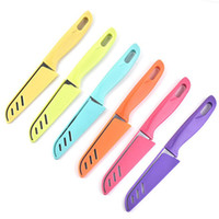 الفواكه المنزلية سكاكين المطبخ تقشير سكاكين مطابخ مع سكاب بارد قطع الخضروات غير القابل للصدأ سكين الفاكهة