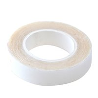 Neitsi 1Roll 1.0cm * 3 Yards White Double-sided Tape for Skin Weft Hair Extensions