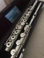 Muramatsu flöjt ds flöjt flöjt-b foot / c # trill / split e-underbara prestanda musikinstrument koppar-nickel silverpläterad flöjt med fall