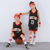 Erkek Çocuklar için Basketbol Formaları Gençlik Küçük Büyük Özelleştirilmiş 20 Dolar Ucuz Yürüyor Boys Kız Basketbol Jersey T-Shirt ET Şort