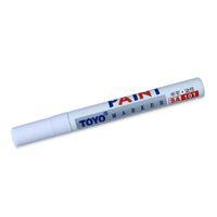 Stylo marqueur de peinture permanent peinture stylos de pneu de voiture universel imperméable bande de roulement caoutchouc métal blanc couleur bateau de baisse gratuit