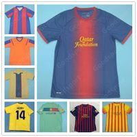 Retro 9192 99 02 101112131415 Messi futebol jerseys ronaldinho henry a iniesta ronaldo kluivert stoichkov koeman xavi pique camisas de futebol