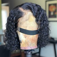 Curly Wig Brazilian Lace Front Human Hair Wigs For Women Nat...