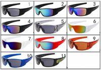 디자이너 구비 유리 안경 새로운 패션 스포츠 선글라스 남자 / 여성 브랜드 낚시 선글라스 남자 태양 안경 11 색
