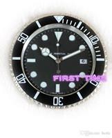 Accueil Decor Horloge murale Moderne Design Haute Qualité Neuf En acier inoxydable Calendriers de visage lumineux FT-UB001