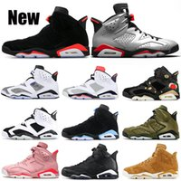2019 Basketball Shoes 6 Bred 3M Reflective Silver LTR Oreo P...