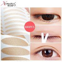 480 adet Görünmez Göz Kapak Bantları Doğal Nefes Göz kapağı Çıkartmalar Farklı Şekiller Anında Göz Asansör Kuyu Göz Bant Araçları