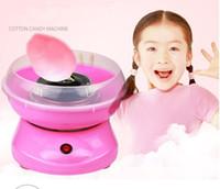 Ev DIY çocuk pamuk şeker makinesi otomatik elektrikli fantezi mini ticari pamuk şeker makinesi