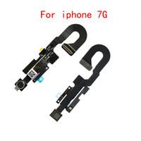 50pcs Ön Yüz Kamera Yakınlık Işık Sensörü Flex Kablo Bölüm iphone 7 8 artı İçin
